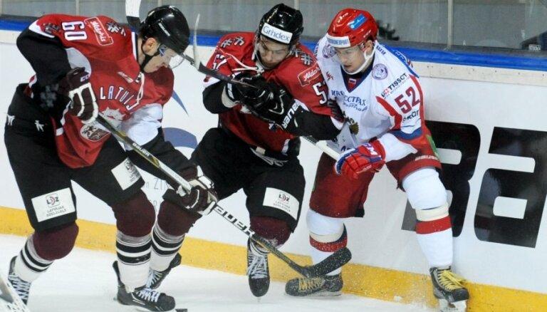 Latvijas hokeja izlase atkārtotajā mačā uzņem ar Znaroka un Vītoliņa vadīto Krievijas valstsvienību