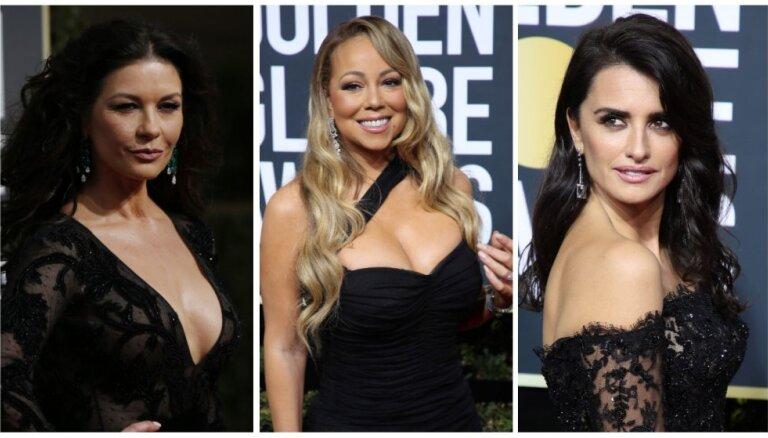 """Женщины в черном: наряды """"Золотого глобуса"""" как выражение акции протеста"""
