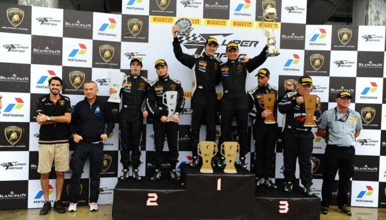 Haralds Šlēgelmilhs: uzvara 'Lamborghini' sezonas noslēgumā Sebringā – viena no skaistākajām