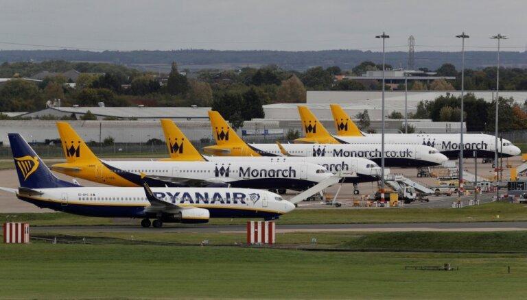 Grieķijas valdība nosūta lidmašīnu uz Rumāniju, lai galamērķī nogādātu 'Ryanair' pasažierus