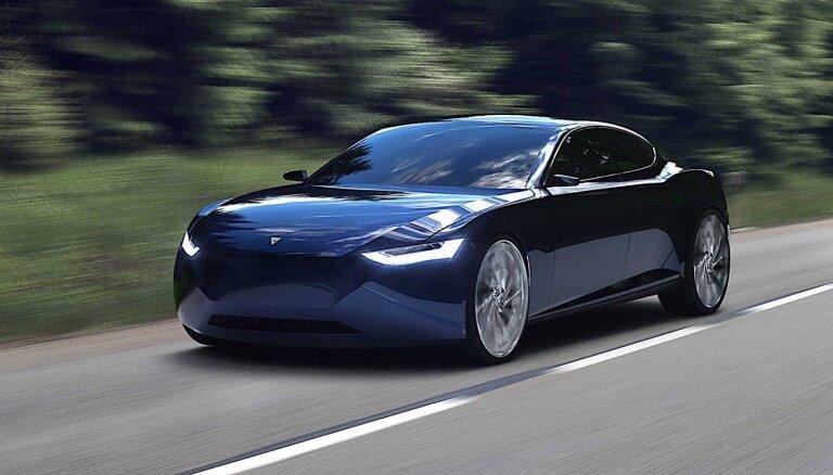 Norvēģi gatavo savu 'Tesla' elektromobiļa konkurentu
