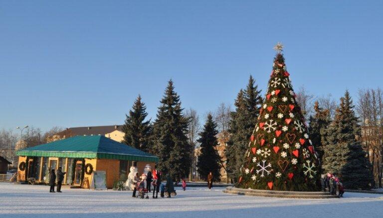 Ziemassvēku pasākumu ceļvedis Daugavpilī: rūķu namiņš, Betlēmes atklāšana un gaismas akcija