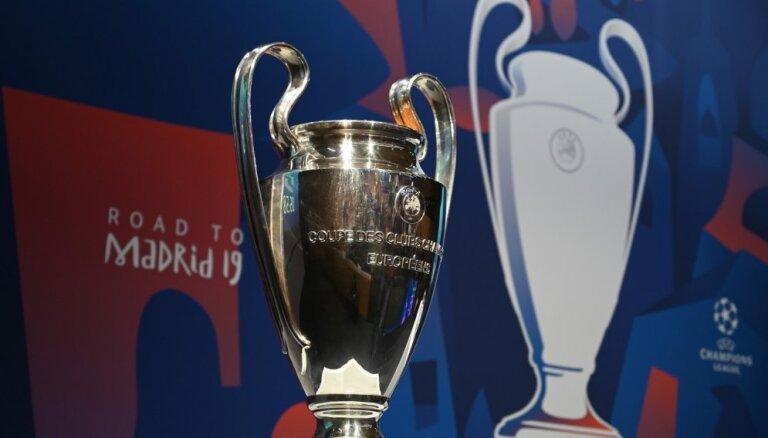 Spozmi atguvusī Mančestras 'United' Čempionu līgas ceturtdaļfinālā spēkosies ar 'Barcelona'