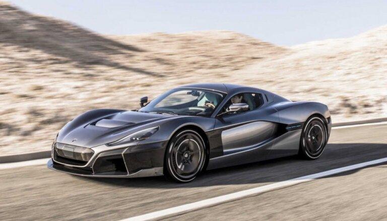 'Porsche' ieguldījis Horvātijas sportisko elektromobiļu ražotājā 'Rimac'
