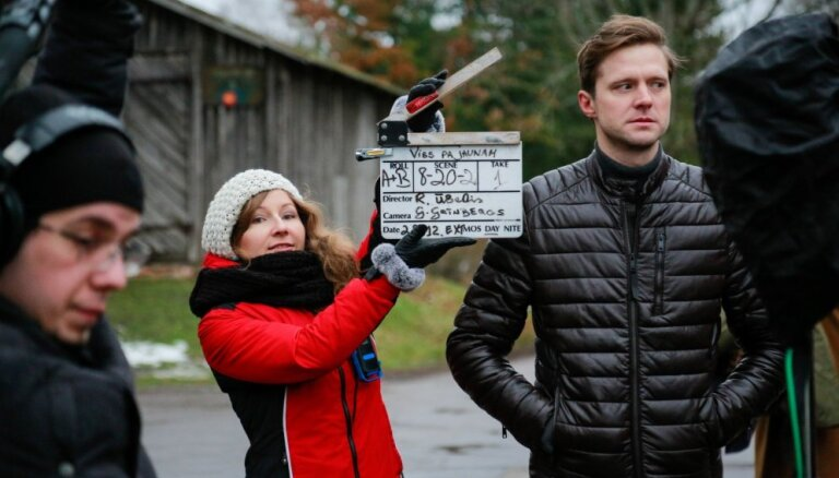Foto: Pirmais ieskats Ēķa un Graubas veidotajā TV3 seriālā