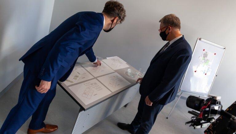 Svinīgā ceremonijā atklāts renovētais Rīgas Doma kora skolas mācību korpusa stāvs
