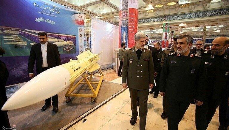 Irāna izmēģinājusi jaunu spārnoto raķeti