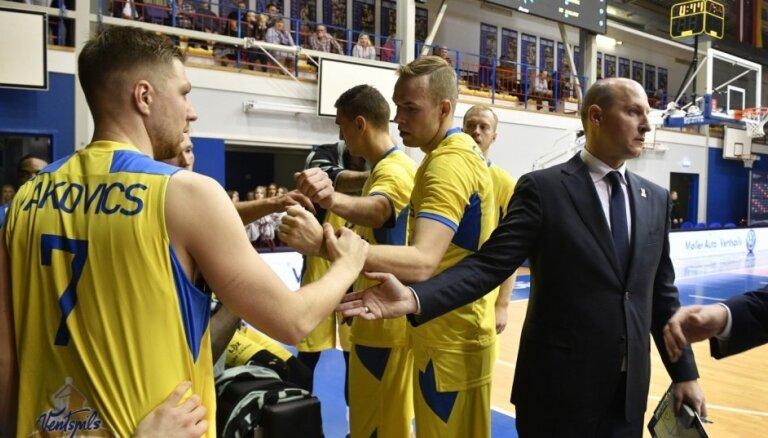 'Ventspils' apvienotā čempionāta spēlē pārspēj 'Valga-Valka'/'Maks&Moorits' basketbolistus