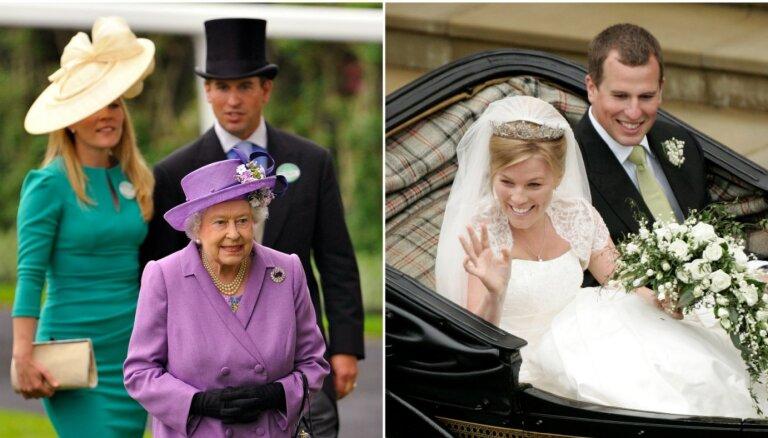 Šķirta karalienes Elizabetes vecākā mazdēla 12 gadus ilgā laulība