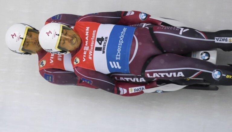 Visi labākie Latvijas kamaniņu braucēji startēs pasaules čempionātā