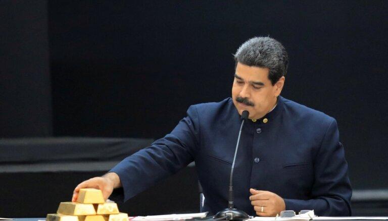 Maduro neizdodas atgūt Anglijā glabāto Venecuēlas zeltu