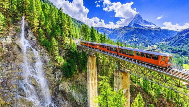 Ceļo virtuāli: pieci ainaviski vilcienu maršruti
