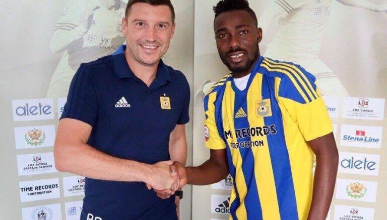 'Ventspils' sastāvam pievienojas kādreizējais Togo futbola izlases pussargs Vomē