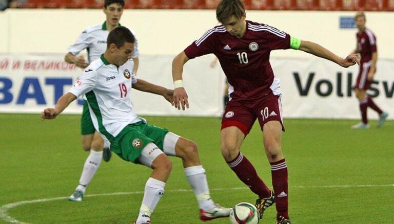 Latvijas U-18 futbola izlase pārbaudes turnīru noslēdz sestajā vietā