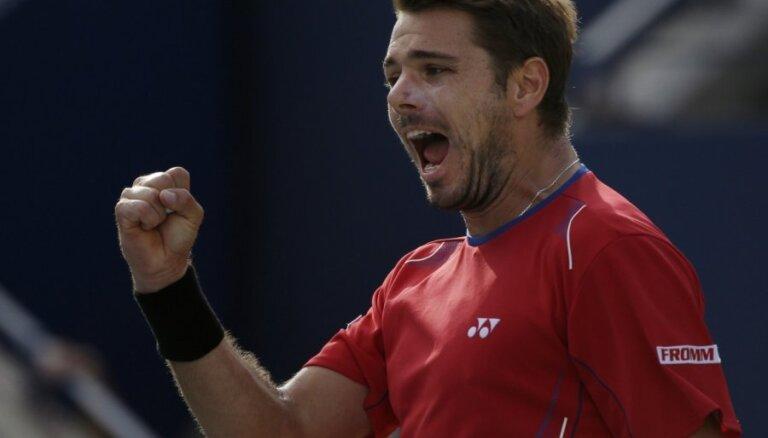 Разбушевавшегося Вавринку в полуфинале US Open остановил Джокович