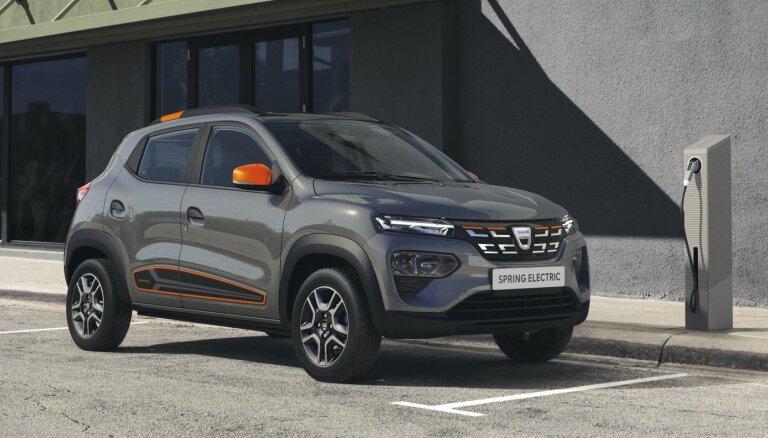 Eiropā lētākais elektromobilis būs rumāņu 'Dacia Spring'