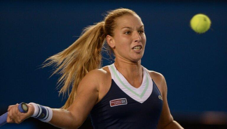 Cibuļkova, iespējams, varētu spēlēt pret Latvijas tenisistēm