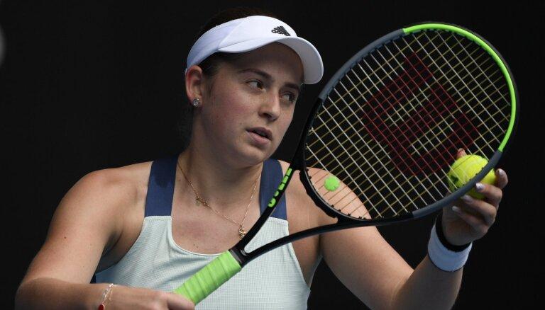 Ostapenko Īstbornas 'WTA 500' turnīra pirmajā kārtā tiksies ar 'French Open' finālisti Pavļučenkovu