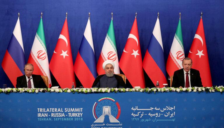 Россия, Иран и Турция не смогли сблизить позиции по Идлибу