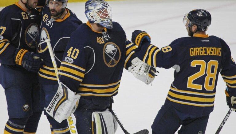 НХЛ: Гиргенсонс отдал голевую передачу, Панарин повторил рекорд