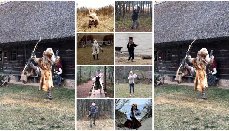 Noskaties! 'Dzirnu' dejotāji iet budēļos jaunā video 'Eima, bērni, čigānos!'