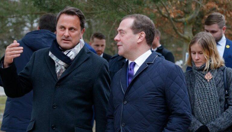 Кортеж Медведева с мигалками рассмешил жителей Люксембурга