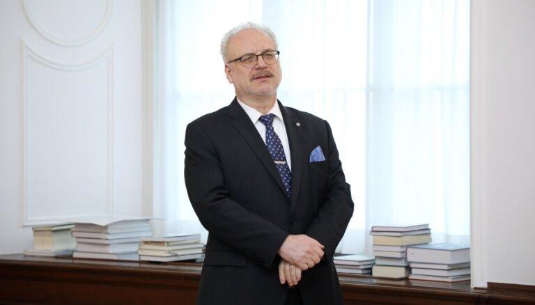 Левитс провозгласил закон об административно-территориальной реформе