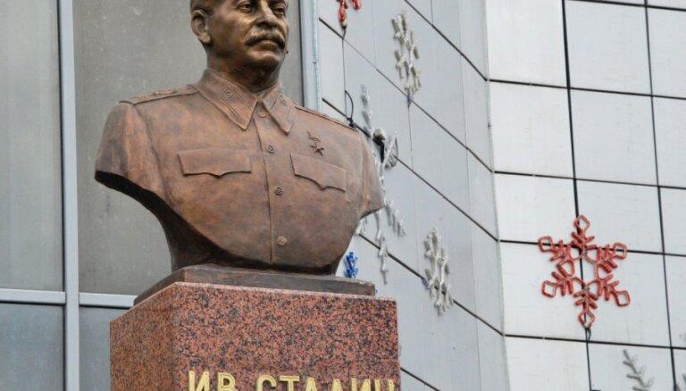 В Новосибирске поставят памятник Сталину