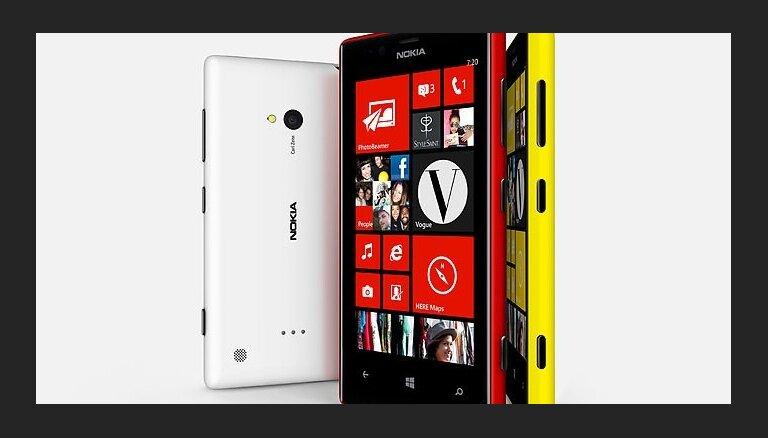 'Lumia' viedtelefonu pārdošana samazina 'Nokia' zaudējumus