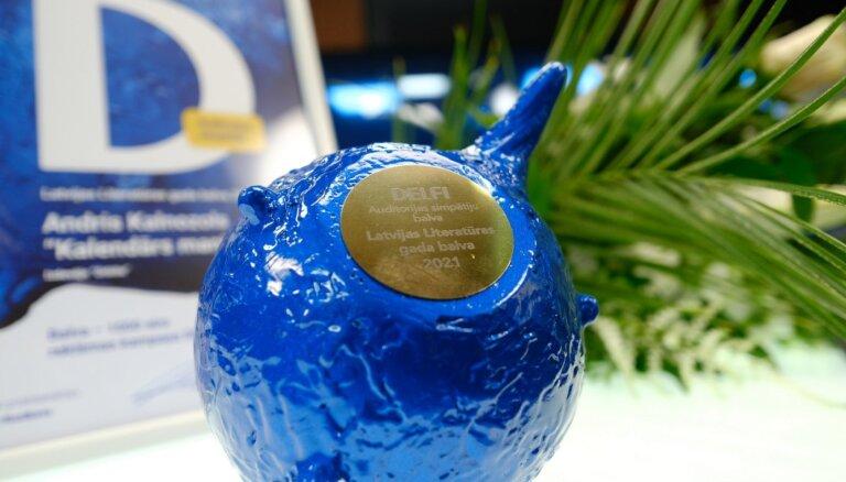 Latvijas Literatūras gada balvas 'Delfi' auditorijas balsojuma godalgu saņem Andris Kalnozols