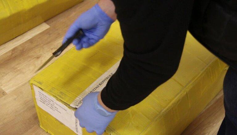 Pasta sūtījumos VID atrod pustonnu narkotisko vielu izejmateriālu