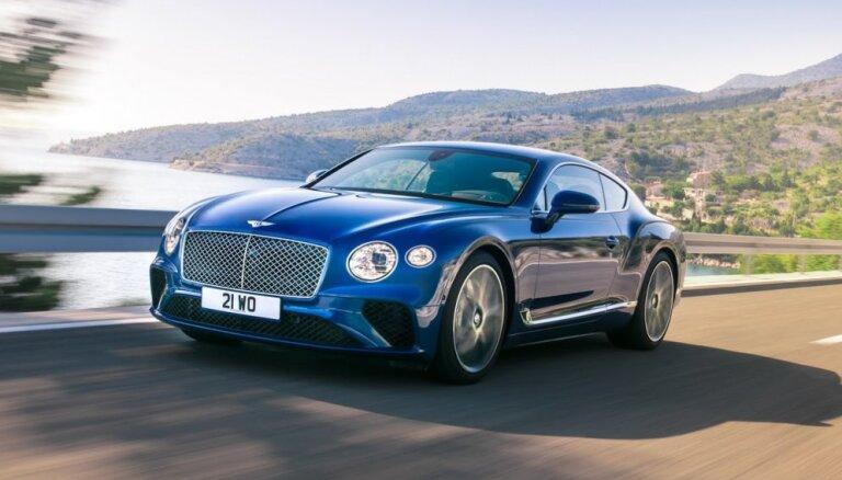 Jaunās paaudzes 'Bentley Continental GT'