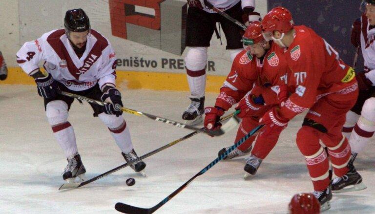ВИДЕО: Белорусам сборная Латвии забросить не смогла