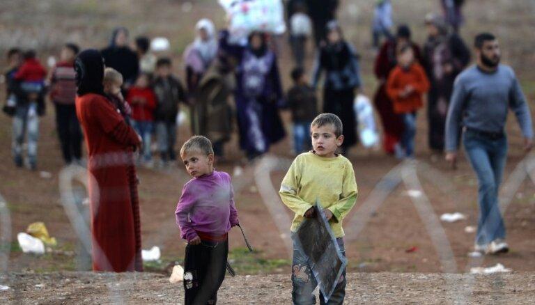Turcija uzņēmusi lielāko bēgļu skaitu pasaulē – 4 miljonus cilvēku