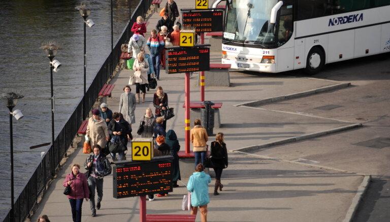 Atkārtoti izsludināts konkurss par sabiedriskā transporta pakalpojumu nodrošināšanu septiņās maršrutu tīkla daļās