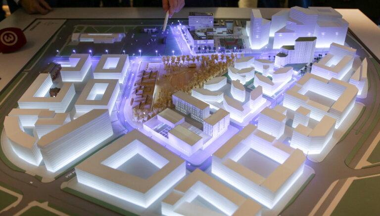 Агентство: район Сканстес будет новым центром Риги и без New Hanza