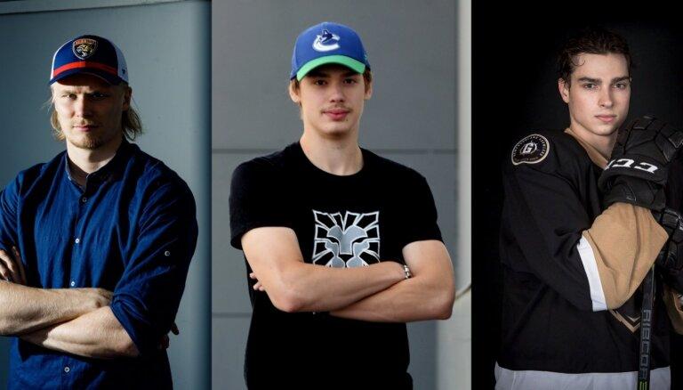 Iesaldētie sapņi: trīs latvieši ar NHL līgumiem, bet bez NHL ledus