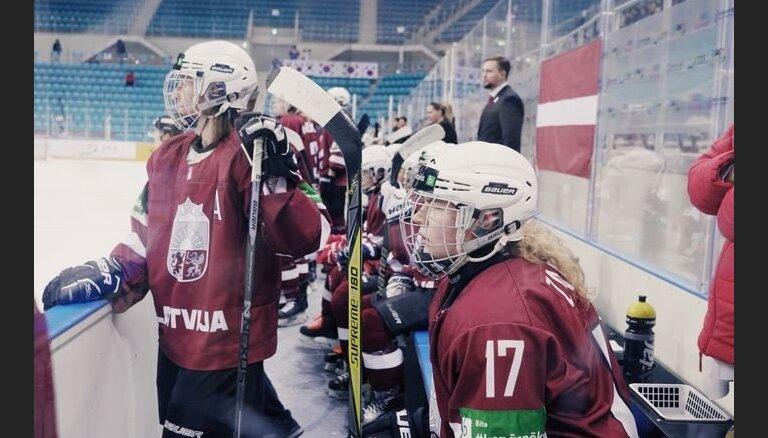 Latvijas sieviešu hokeja izlase turnīru Dienvidkorejā noslēdz trešajā vietā