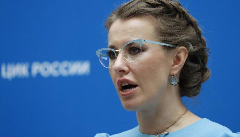 """Собчак внесли в базу данных украинского сайта """"Миротворец"""""""