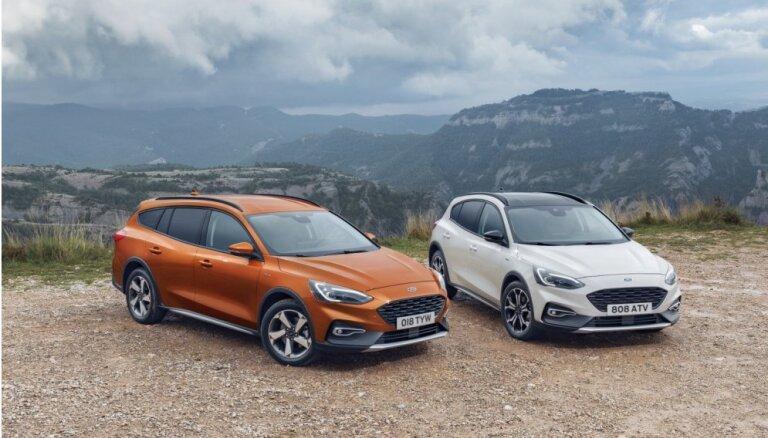 'Ford Focus' paaugstinātās pārgājības versijā 'Active'