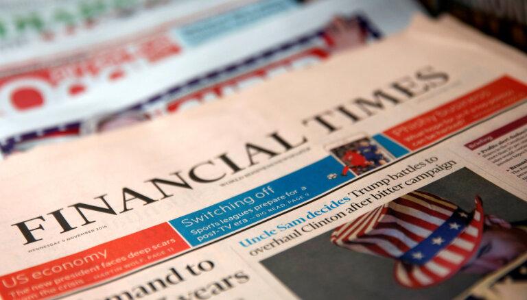 Septiņi Latvijas uzņēmumi iekļuvuši prestižajā 'Financial Times' topā