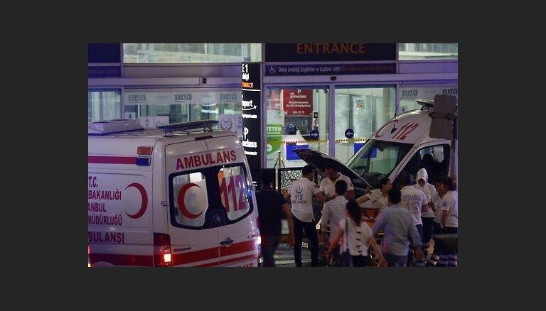 Латвиец пострадал во время теракта в аэропорту Стамбула
