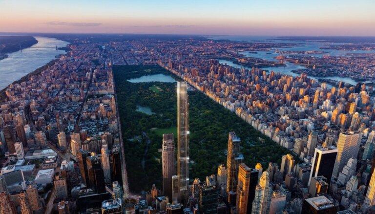 Video: Ņujorkā plāno būvēt pasaulē augstāko dzīvojamo māju