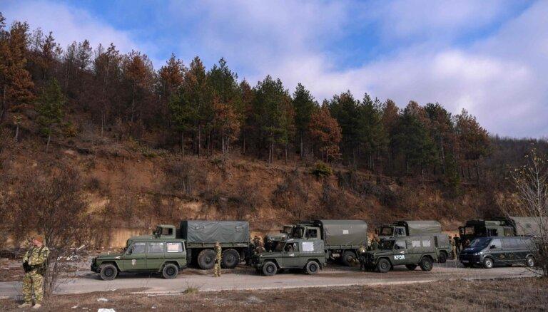 NBS uz starptautisko operāciju Kosovā sūtīs rotas līmeņa vienību