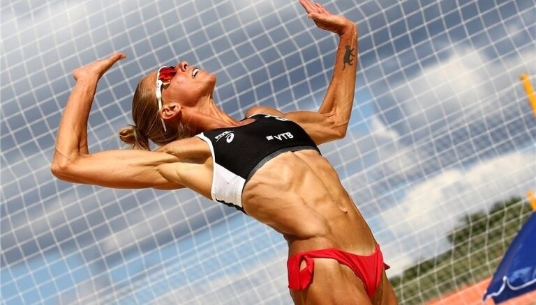 Ozoliņa/Caicai neizdodas pārvarēt Maskavas četru zvaigžņu turnīra kvalifikāciju