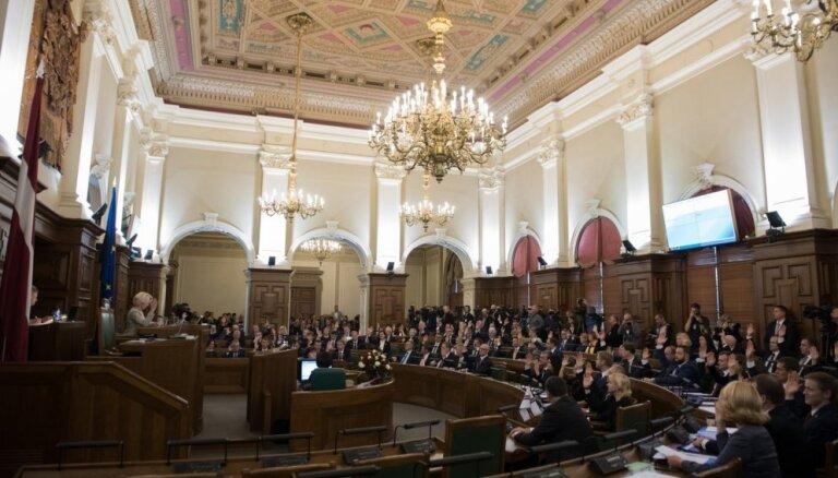 Saeimā līdzīgs balsu sadalījums par rezolūciju ANO migrācijas pakta neatbalstīšanai