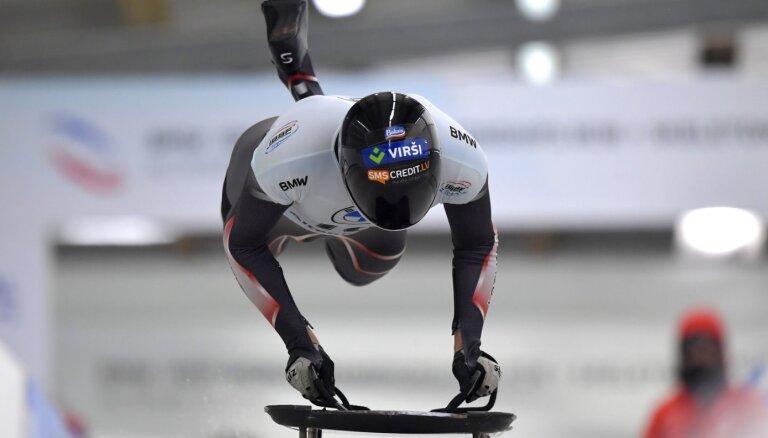 Дукурсы провалили два первых заезда на чемпионате мира по скелетону, лидирует — Третьяков
