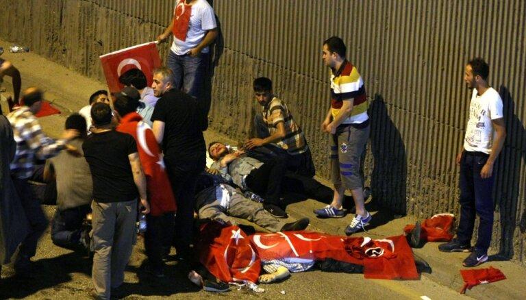 Vēstnieks: ASV nebija iesaistītas Turcijas pučā