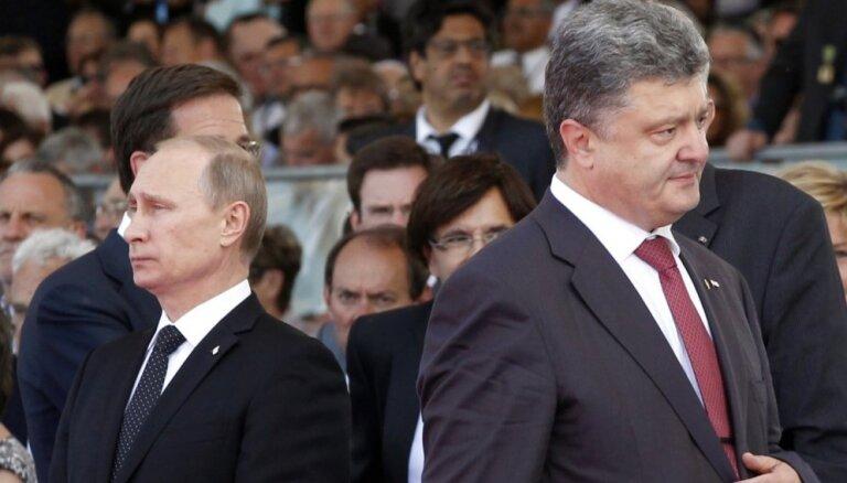 Порошенко снова пожаловался на нежелание Путина говорить с ним