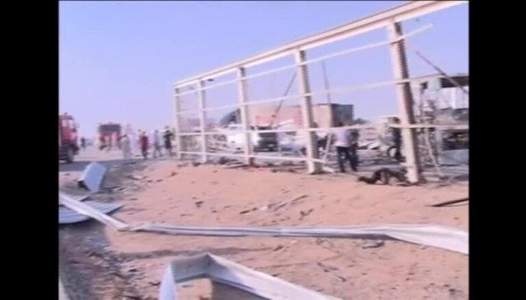 Teroraktos Irākas dienvidos nogalināti vismaz 74 cilvēki